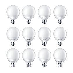 Philips LED 40W Globe Daylight Non Dim - Case of 12 Bulbs