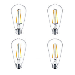 Philips LED 40W ST19 Filament Daylight -Case of 4 Bulbs