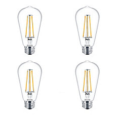 LED 40W ST19 Filament Daylight -Case of 4 Bulbs