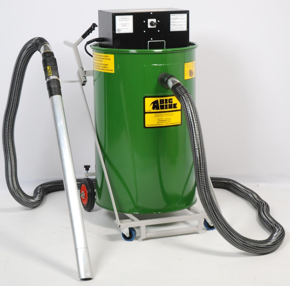 BIG MIKE BIG MIKE Dry-Only 240V Popular Industrial Vacuum