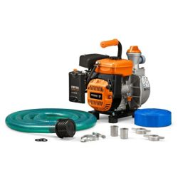 Generac 3HP 1.5 in. Gas Powered Clean Water Pump with Hose Kit