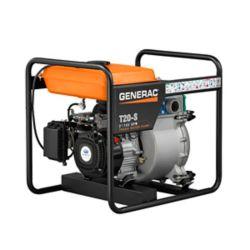 Generac 7HP 2 po. Pompe à ordures alimentée au gaz