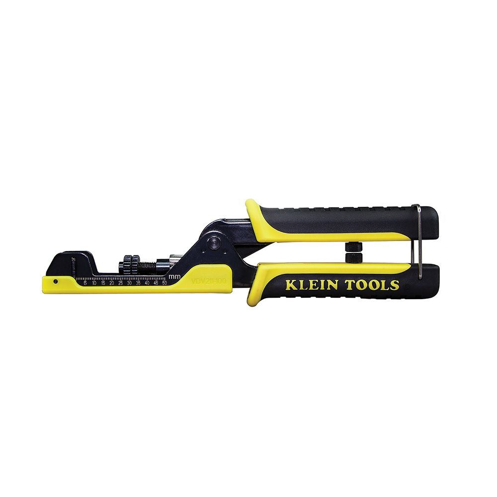 Klein Tools Extended Reach Coax Crimper