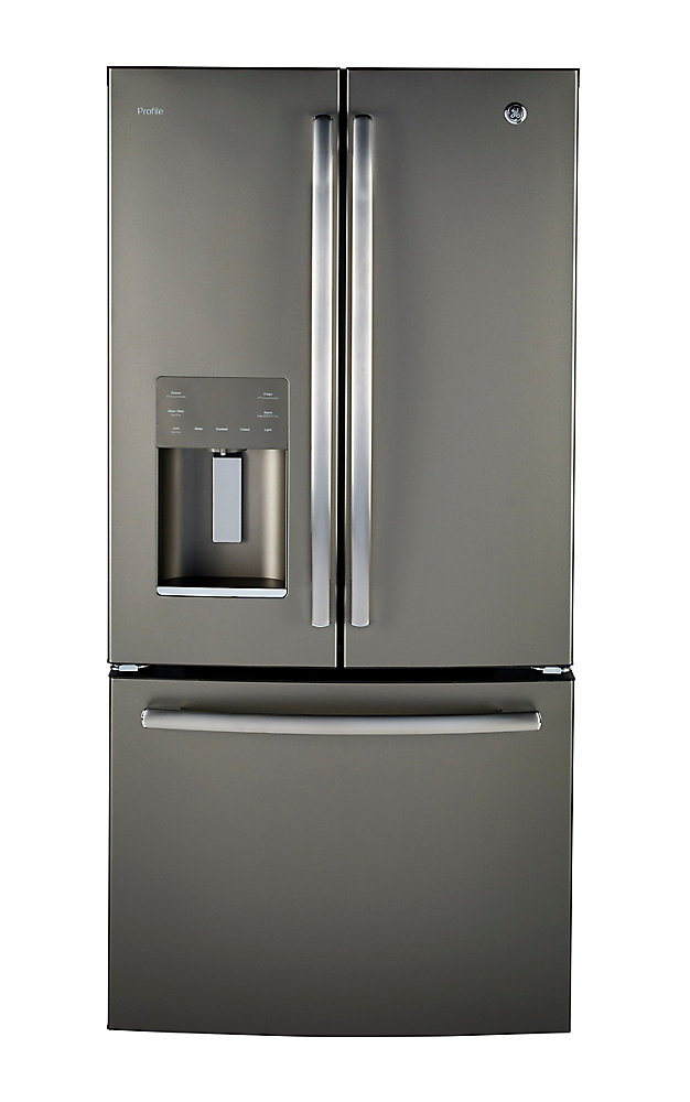 Ge Profile 17 5 Cu Ft Counter Depth French Door