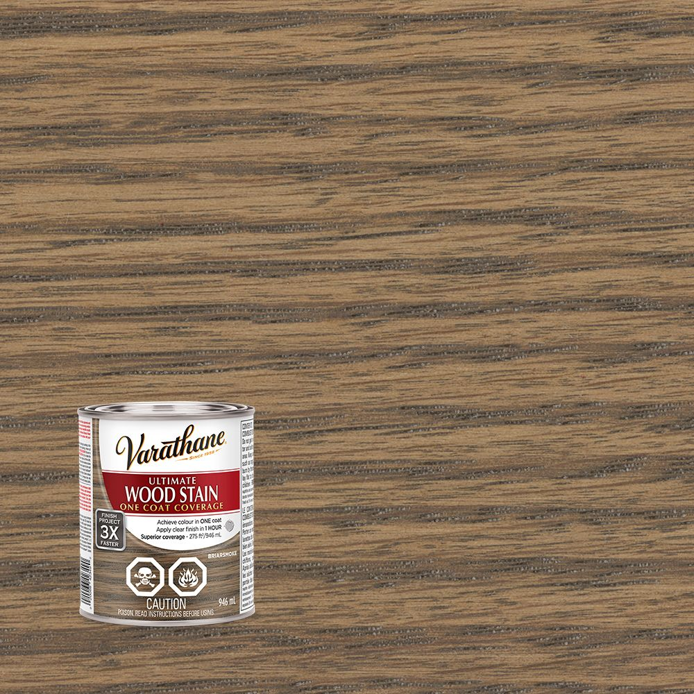 Varathane Ultimate Stain Briarsmoke 946ml The Home Depot