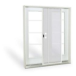 JELD-WEN Windows & Doors 6 ft. French Door, 4 lite door glass, Low E argon, LH, inswing 7 1/4 East - ENERGY STAR®