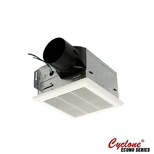 Les ventilateurs pour les salles de bains HushTone de Cyclone, 90 PCM, 2 sones, 4 po collier