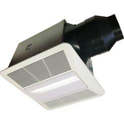 Cyclone HushTone Quiet Series 150 CFM 1.1 Sones Bath Fan with Light