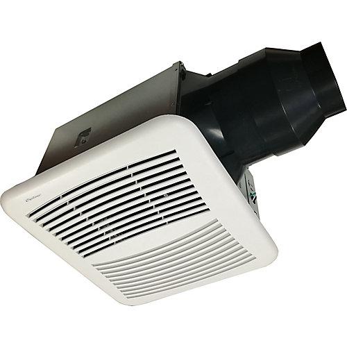 HushTone de Cyclone, 150 PCM, ventilateurs pour les salles de bains avec l'Humidistat