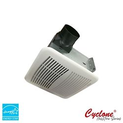 Cyclone HushTone Hushtone Quiet Series 150 CFM Bath Exhaust Fan with Humidity Sensor and Timer