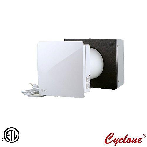 Cyclone Dual Air Single Room High-Efficiency Energy Recovery Ventilator