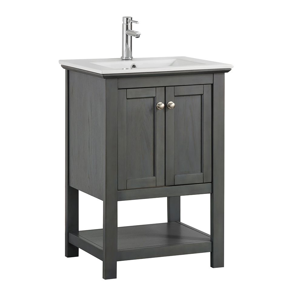 Bathroom vanities with sinks the home depot canada - Home depot bathroom vanity countertops ...