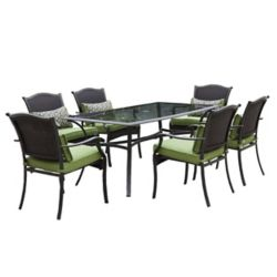 Royal Garden Bellmere 7-Piece Cushioned Patio Dining Set