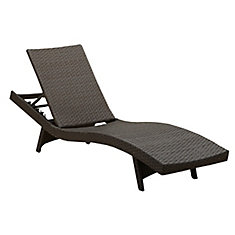 Chaise longue Albany, osier