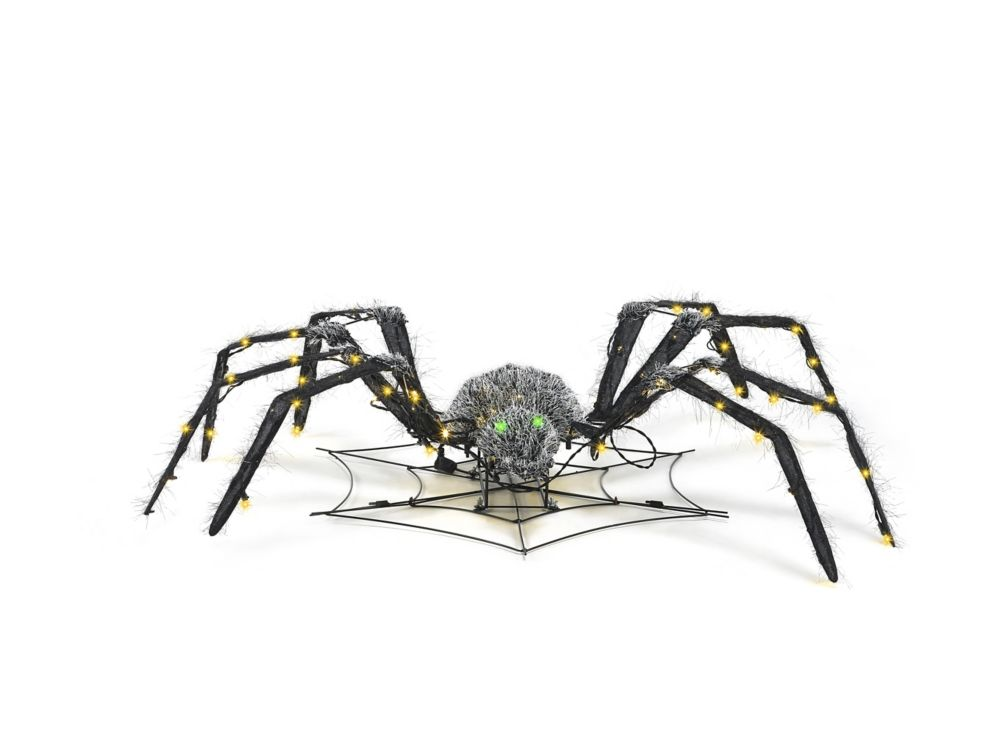 HAL 48-inch Animated Spider Halloween Decoration