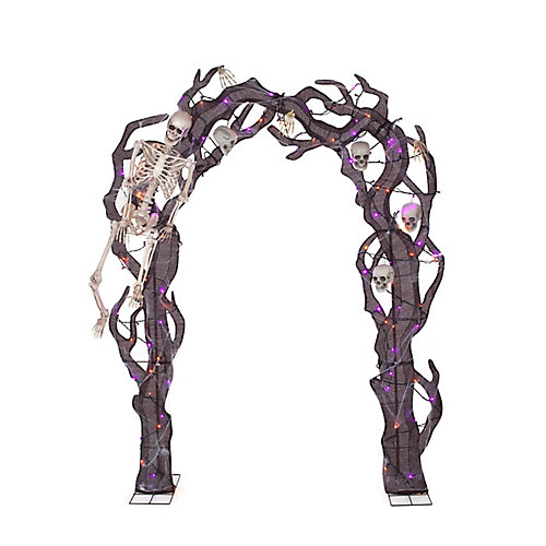 8.5 Ft. Skeleton Archway Loween Decoration