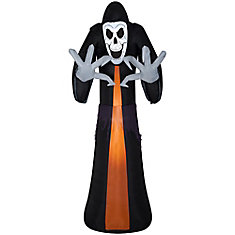 9 ft. Airblown Inflatable Reaper Outdoor Halloween Decoration