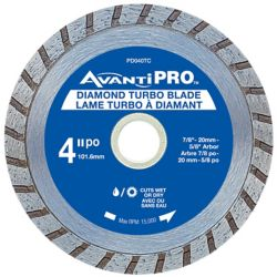 Avanti Pro 4 inch Turbo Diamond Blade