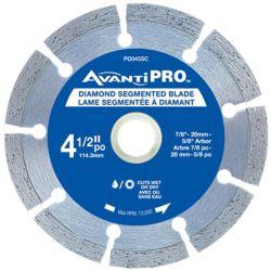 Avanti Pro 4.5 inch Segmented Diamond Blade