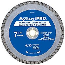 Avanti Pro 7 inch Turbo Diamond Blade