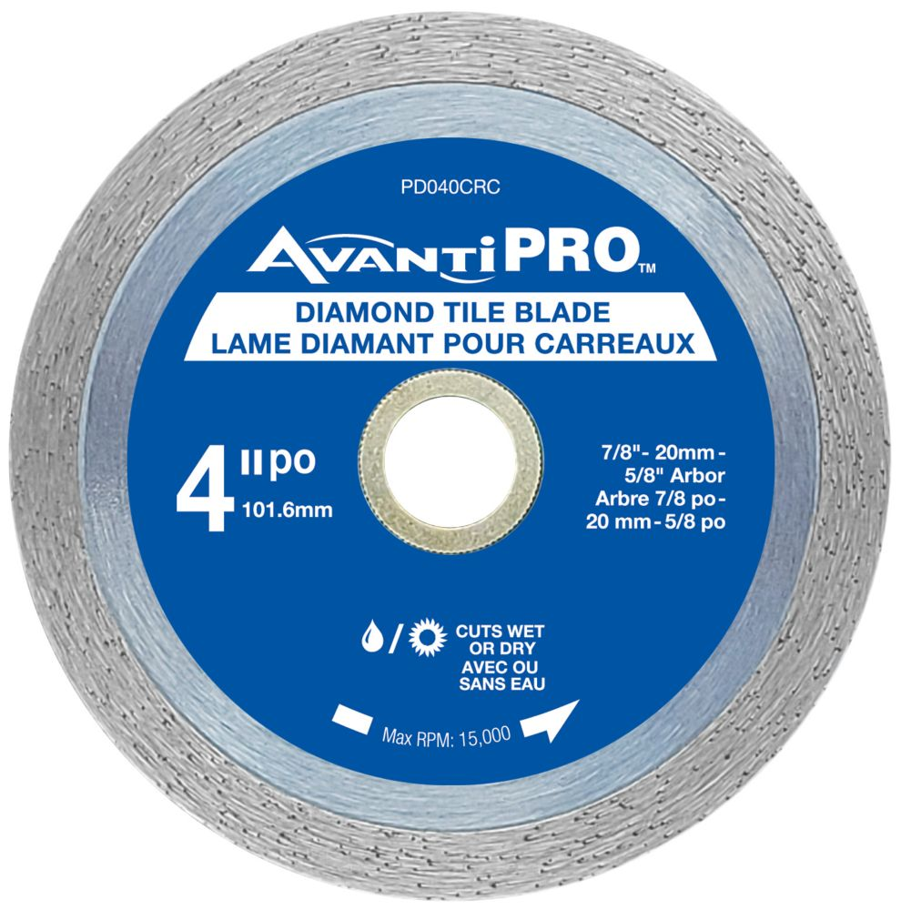 Ridgid 4 Inch Segmented Diamond Blade The Home Depot Canada