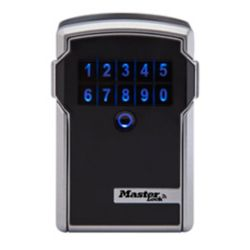 Master Lock 3-1/4 inch. (83mm) Wide Electronic Wall Mount Lock Box