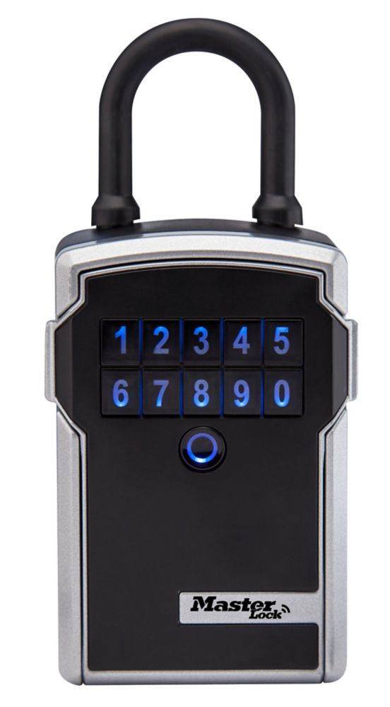 Master Lock 3-1/4 inch. (83mm) Wide Electronic Portable Lock Box
