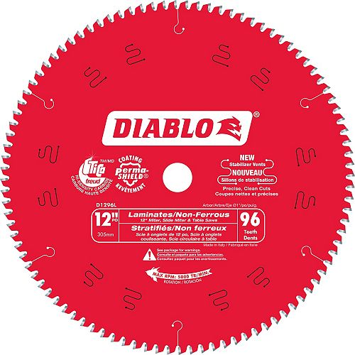 Diablo 12 x 96 Inch Laminate Flooring Blade