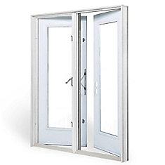 5 ft. Garden Door, 1 Lite door glass Low E argon, LH outswing 4 9/16 inch jamb west