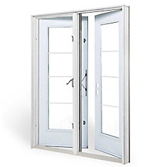 new concept 3dc8e bb55e 5 ft. Garden Door, 4 Lite door glass Low E argon, LH outswing 4 9/16 inch  jamb west - ENERGY STAR®