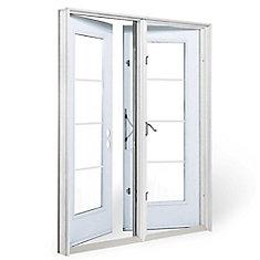 6 ft. Garden Door, 4 Lite door glass Low E argon, RH outswing 4 9/16 inch jamb west