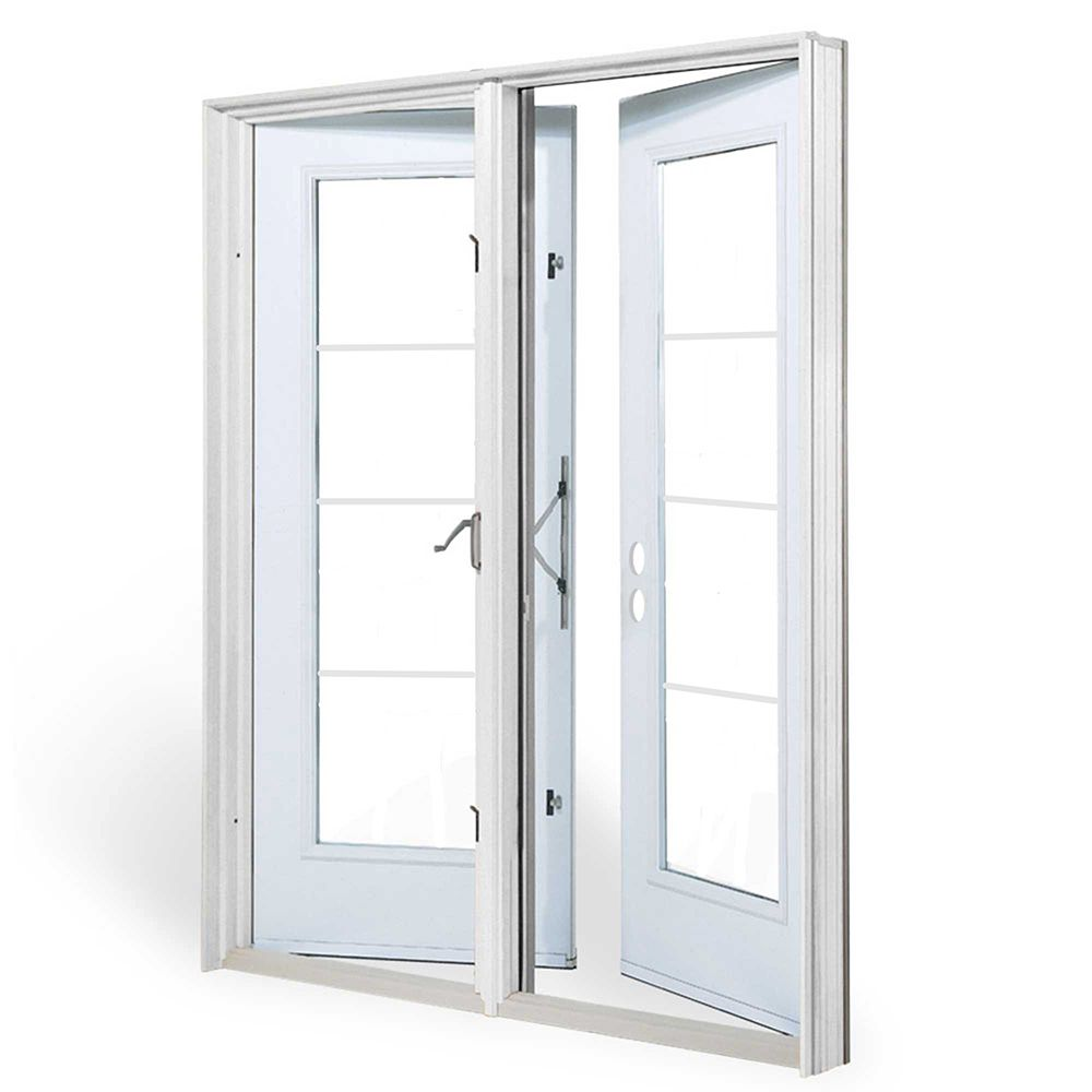 JELD-WEN Windows & Doors 6 ft. Garden Door, 4 Lite door glass Low E argon, LH outswing 4 9/16 inch jamb west - ENERGY STAR®