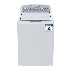 GE 4.9 cu. ft. High Efficiency Top Load Washer in White - ENERGY STAR®