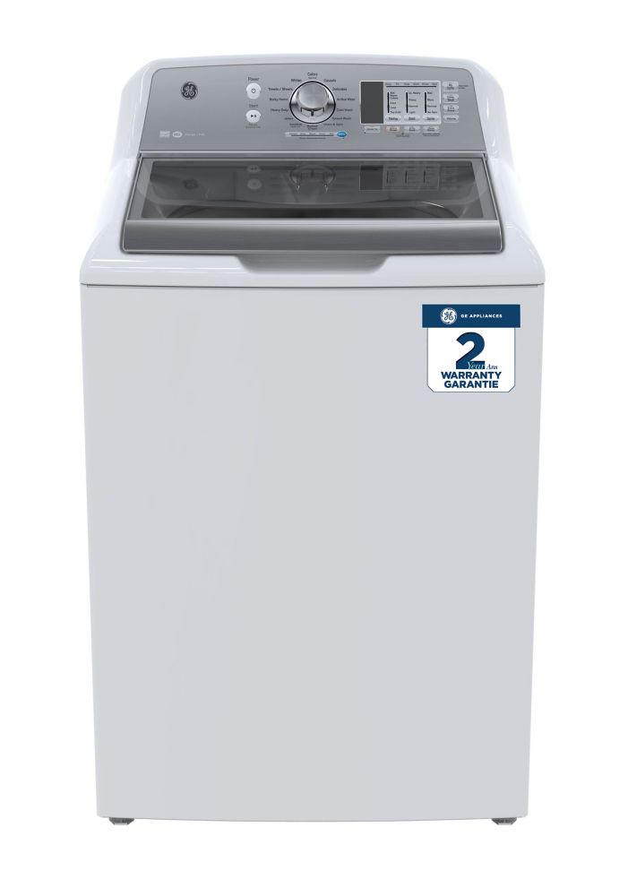 5.3 cu. ft. High Efficiency Top Load Washer in White - ENERGY STAR®