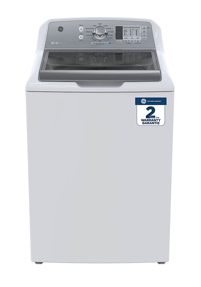 5.3 cu. ft. High Efficiency Top Load Washer in Stainless Steel - ENERGY STAR®