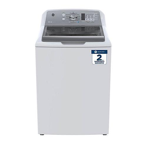 Laveuse haute efficacité à chargement par le haut de 5,3 pi3 en blanc - ENERGY STAR