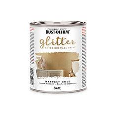 946mL Interior Intense Shimmer Paint in Harvest Gold