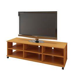 Nexera Jasper 60 inch TV Stand, American Beech
