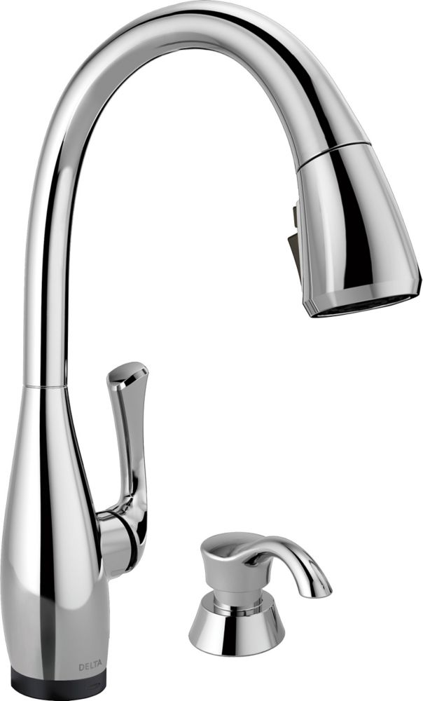 by pin in champagne delta design faucet bronze kitchen trinsic manifest