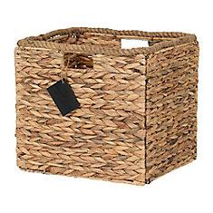 Storit Beige Rattan Basket