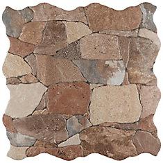 Attica Caldera 16-7/8-inch x 16-7/8-inch Ceramic Floor and Wall Tile (14.15 sq. ft. / case)