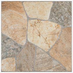 Merola Tile Carreau en porcelaine pour sol/mur Elba Rustico 17 3/8 po x 17 3/8 po (15,1 pi2/boîte)