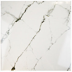 Classic Calacatta 18-inch x 18-inch Ceramic Floor and Wall Tile (11.25 sq. ft. / case)