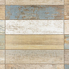 Kings Bretagne 17-5/8-inch x 17-5/8-inch Ceramic Floor and Wall Tile (11.1 sq.ft. / case)