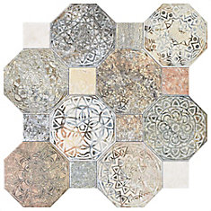 Silex Decor 17-3/4-inch x 17-3/4-inch Ceramic Floor and Wall Tile (17.87 sq.ft. / case)