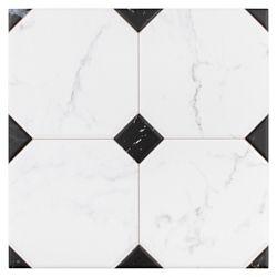 Merola Tile Carreau en céramique pour sol/mur Betera Jet Blanco 13 1/8 po x 13 1/8 po (11,18 pi2/boîte)