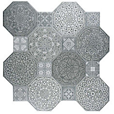Imagine Decor 17-3/4-inch x 17-3/4-inch Ceramic Floor and Wall Tile (17.87 sq.ft. / case)