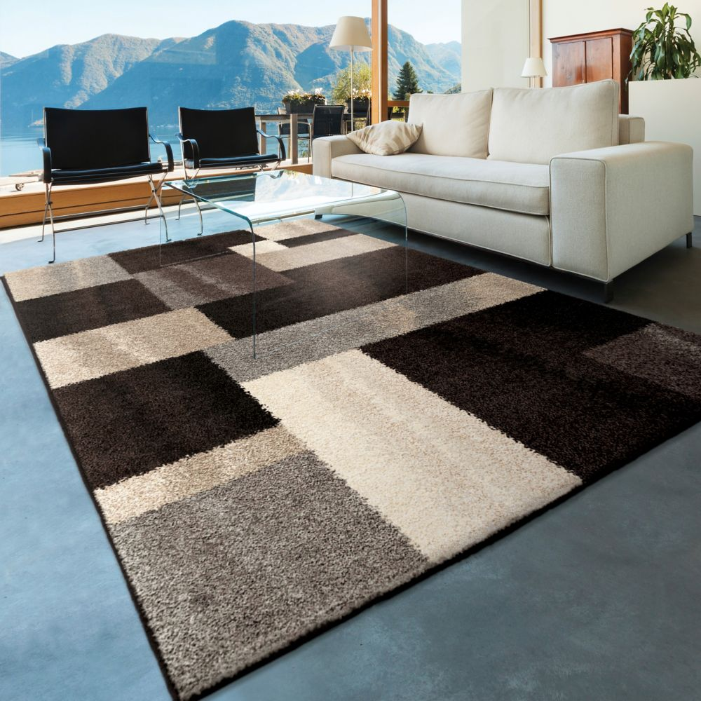 Home Decorators Collection Helena Patchwork Grey 5 ft. 3-inch x 7 ft. 6-inch Indoor Area Rug