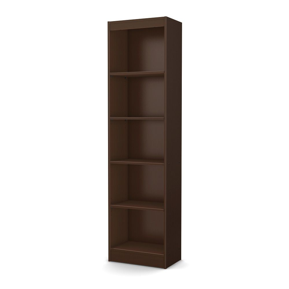 shelf bookshelf black premium with heritage narrow library short bookshelves hill bookcase doors tall ikea wood open cherry