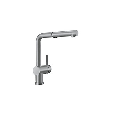 Blanco Posh Pull Out Dual Spray Kitchen Faucet - Stainless Steel ...